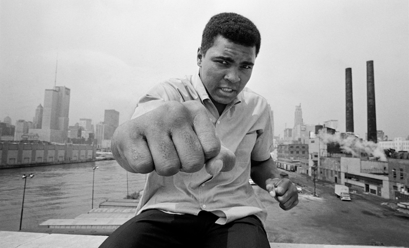 Ali Left Fist - Thomas Hoepker