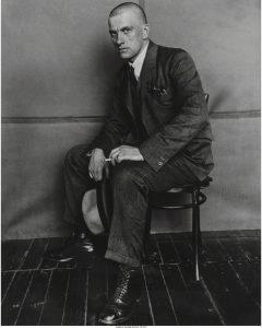 Rodchenko, Portrait of Maiakowski