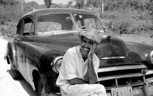 Ricardo with his Chevrolet - Chris Simpson