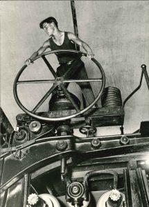 Arkady Shaikhet - Komsomolets at the wheel, Balakhna, 1929