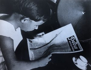 Rodchenko - Reading Pravda