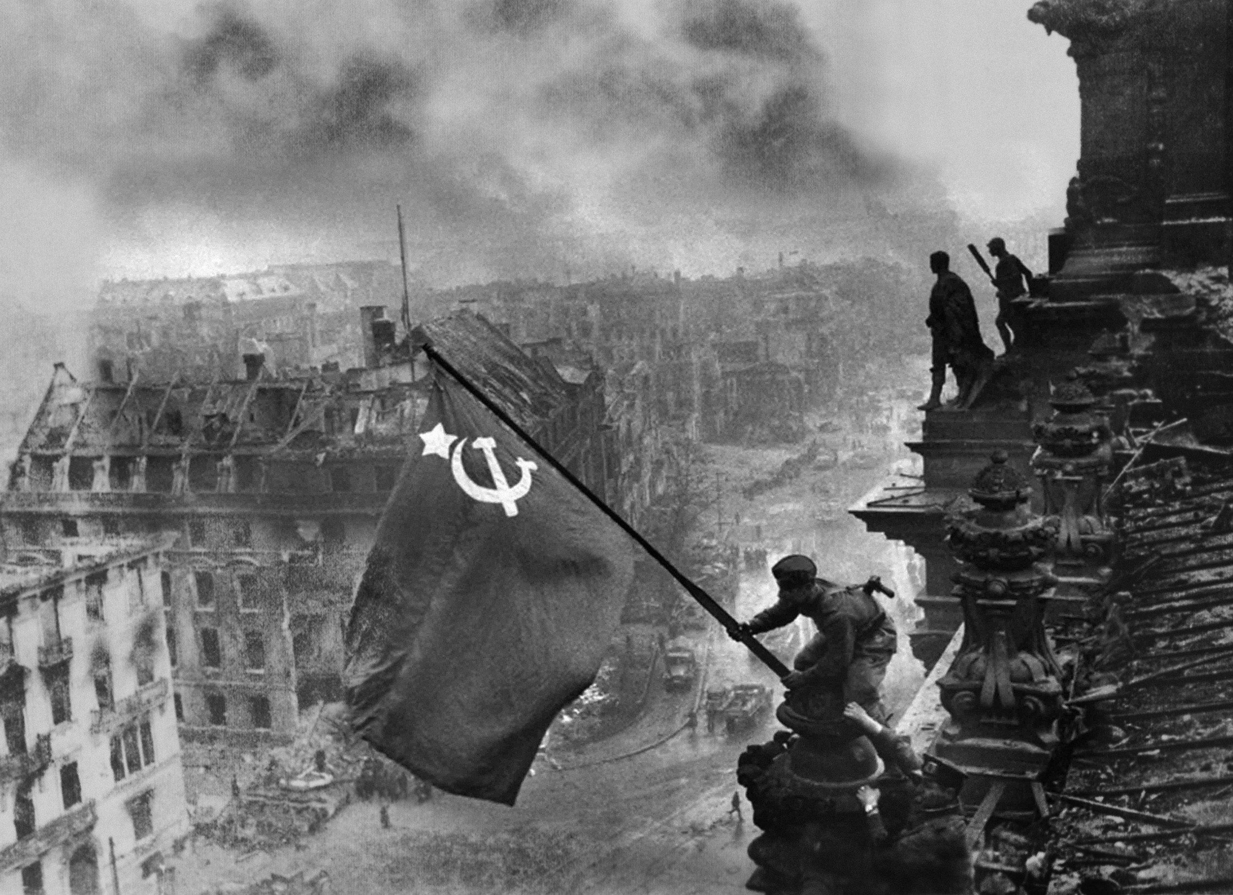 Yevgeniy Khaldey - Banner of Victory