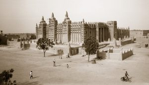 Chris Simpson Grand Mosque at Djenne - Mali