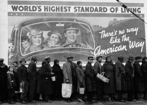 KENTUCKY FLOOD Margaret Bourke White - Worlds highest standard of living