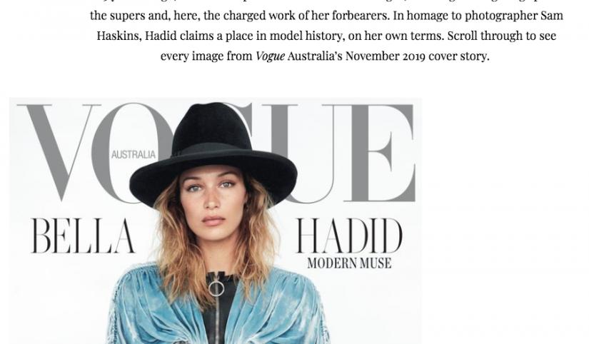 Vogue aus Sam Haskins