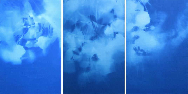 Catalpa 7-31-13 Triptych
