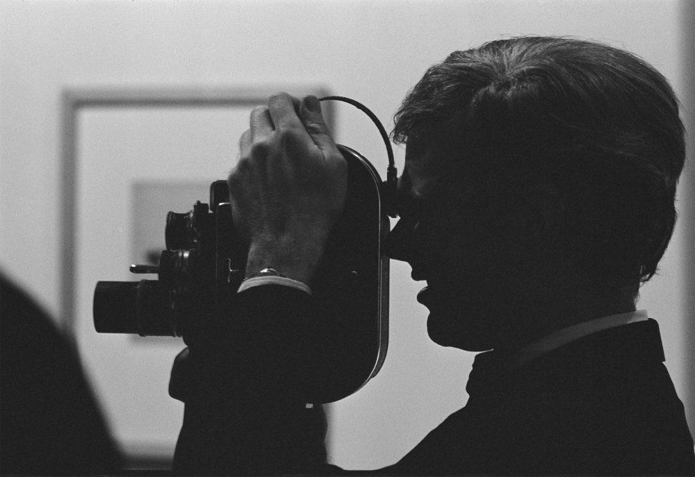 Dennis Hopper Andy Warhol (with Camera), 1962 copy