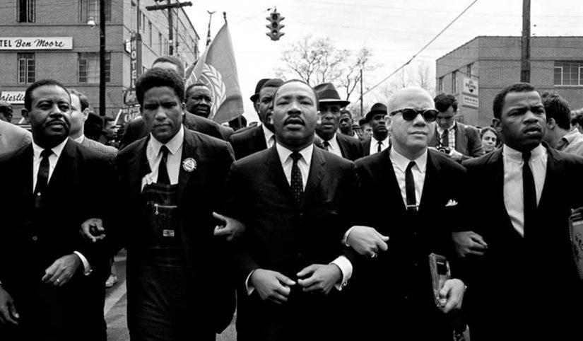 25.MLK, Abernathy and Foreman