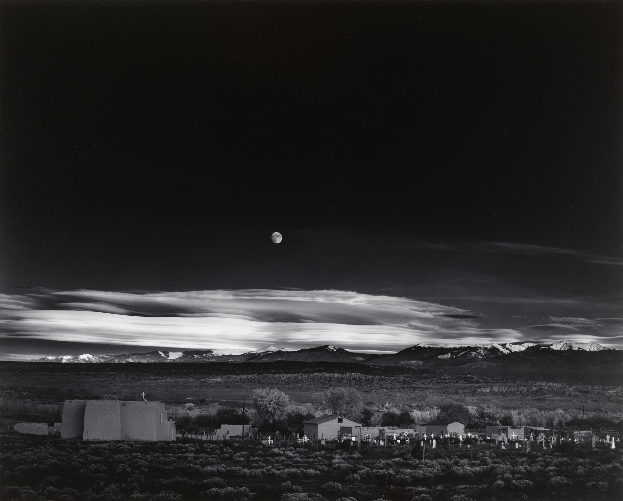 Moonrise,Hernandez, New Mexico, 1941